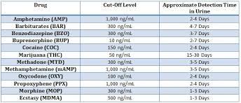 Hair Drug Test Chart Integrated E Z Key Cup 12 Panel Drug Test