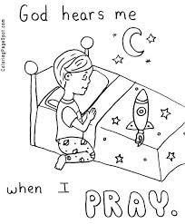 Prayer Coloring Pages And Prays To God Page Hannah For Kids