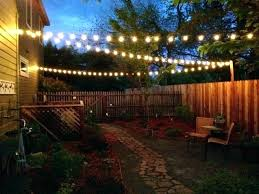 chain link fence lighting lights backyard post caps inspirational review aurora deck house help outdoor solar