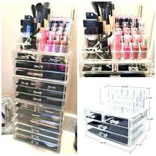 diy makeup storage drawers best organization ideas images on 2 acrylic jewelry cosmetic