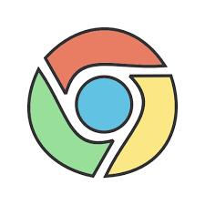 Google chrome Symbol Kostenlos von Social Media & Logos II Filled Line