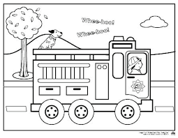 Free Printable Fire Truck Coloring Pages Fireman Sam Sheets Trucks