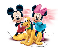 mickey minnie and pluto