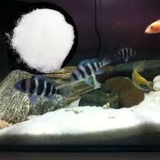 details about natural fish tank diy white quartz sand aquarium bottom ornament decor supplies
