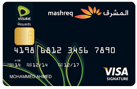 mashreq bank etisalat signature credit card