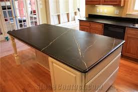 simple kitchen design with sandstone kitchen countertops