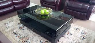 elegant black coffee table pigiame