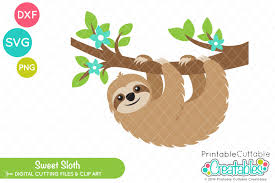 Be sure to check out our website at svgfilesfree.com. Sweet Sloth Svg 287473 Svgs Design Bundles