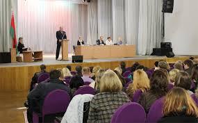 Новости Минская городская коллегия адвокатов Конференция Минской городской коллегии адвокатов состоялась 3 октября В работе конференции приняли участие 160 делегатов из числа адвокатов города