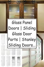 glass panel doors sliding glass door