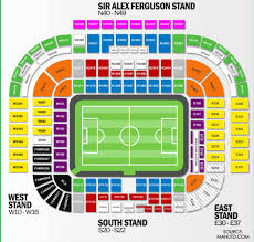Fc Barcelona Seating Chart My Manchester United Hospitality Options