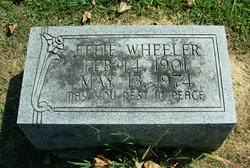 Effie F. Newell Wheeler (1901-1974) - Find A Grave Memorial