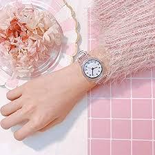 SHOUB <b>Transparent Clock Silicon</b> Watch Women Sport Casual ...