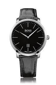 men s designer watches leather chronograph watches hugo boss® 1513258