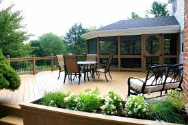 Backyard Deck Design Cool Covered Decks Decks R Us