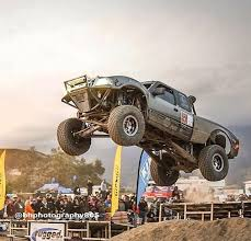 Darren parsons at the jump champs | Trophy truck, Baja truck, Built ford  tough