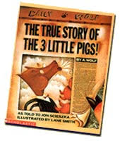 although just about all of us think that we know the story of the three little pigs in this ical picture book a wolf clears up some misunderstandings