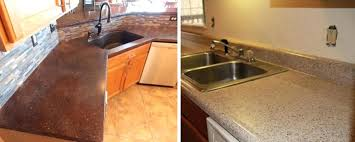 refinishing laminate countertops painting formica before and after paint concrete diy