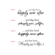 and they lived happily ever after wedding wall quote sign vinyl Wedding Messages Happily Ever After and they lived happily ever after wedding wall quote sign vinyl decal sticker wedding message happy ever after