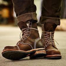 these will be your perfect partner as a go to weekend boots one other tip is kindly do not wear this one pair of rugged leather boot in your office