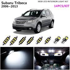 2006 Wrx Fog Light Kit Details About 14bulb Led Smd Xenon White 6000k Interior Light Kit Fit 2006 2013 Subaru Tribeca