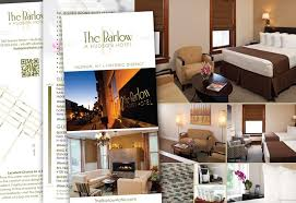 Hotel Brochure Designs Graphic Design For Print Marketing Insideout Solutions