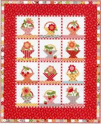 117 best Basket Quilts images on Pinterest   Basket, Beautiful and ... & Annie's Basket Quilt Kit - Suzanne's Quilt Shop, Moultrie, ... Adamdwight.com