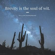 brevity is the soul of wit essay brevity is the soul of wit essay barllarat jack nicholson movies list imdb favorite movie essay