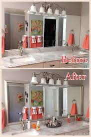 Adhesive Bathroom Mirror 17 Best Images About Reflected Design Custom Frames For