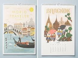 Travel Calendar Ellie Co Cool 2019 Travel Themed Calendars
