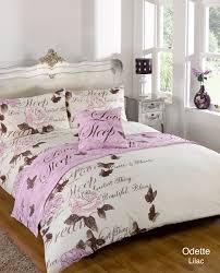 Bed & Bath :: Bed Linen :: Bed In A Bag :: Duvet Quilt Cover Bed ... & Bed & Bath :: Bed Linen :: Bed In A Bag :: Duvet Quilt Cover Bed in a Bag  Odette Lilac Multiple Sizes Adamdwight.com