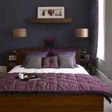 dark purple furniture. Paint Colors For Bedroom With Dark Furniture Purple Covered Bedding White Pendant Lamp Lovely Light Curtain N