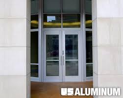 c r laurence u s aluminum medium stile entrance with front