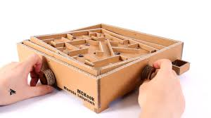 Wooden Board Games To Make How to Make Marble Labyrinth Game Amazing Cardboard Board Game 25