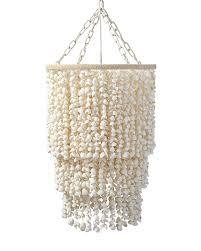 aptos shell chandelier