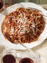 all amatriciana spaghetti spaghetti with a y tomato sauce ricardo