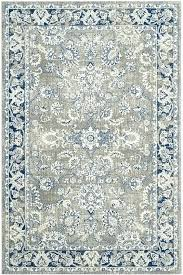 attractive blue gray area rugs blue grey area rug home co power loom cotton gray blue attractive blue gray area rugs