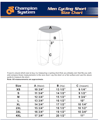Men S Bottoms Size Chart Size Chart Mens Shorts Portovelo