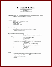 College Student Resume Templates Wonderful Resume Samples With Little Work Experience Unique Resumes For Jobs