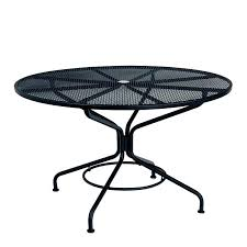 round outdoor table cover inch round patio table textured black contract mesh top umbrella square cover