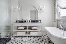 Cream and Gray Moroccan Floor Tiles