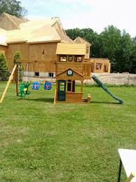 Home Swing Set Paradise Pics On Wonderful Big Backyard Windale Big Backyard Ashberry Wood Swing Set