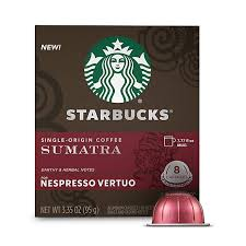 Share our amazing coffees and teas with a friend and receive the gift. Starbucks By Nespresso Vertuo Line Single Origin Sumatra Coffee Capsules 8 Count Bed Bath Beyond