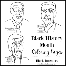 Small Picture Black History Month Coloring Sheet Freebies Half Mom Half Amazing
