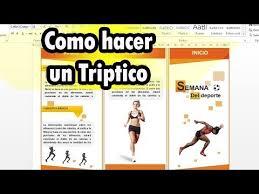 Descargar El Mejor Pack De Tripticos Editables Para Word