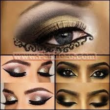 top 10 arabic makeup looks