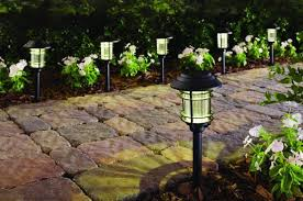 Hampton Bay Pathway Lights Simple Home Depot 32Pack Of Solar LED Pathway Lights For 32