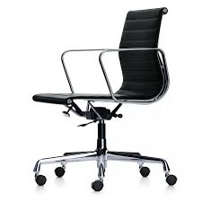 leather swivel office chair. EA 118 Swivel Office Chair Leather D
