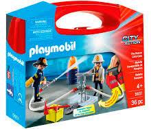 playmobil игровой набор пожарный квадроцикл