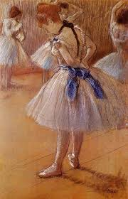 edgar degas this was one of the paintings at my friend the artist s